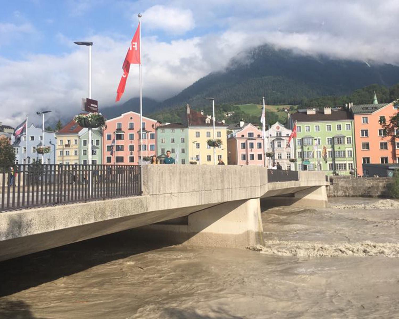 Inn-Pegel geht wieder zurück | Innsbruck Informiert