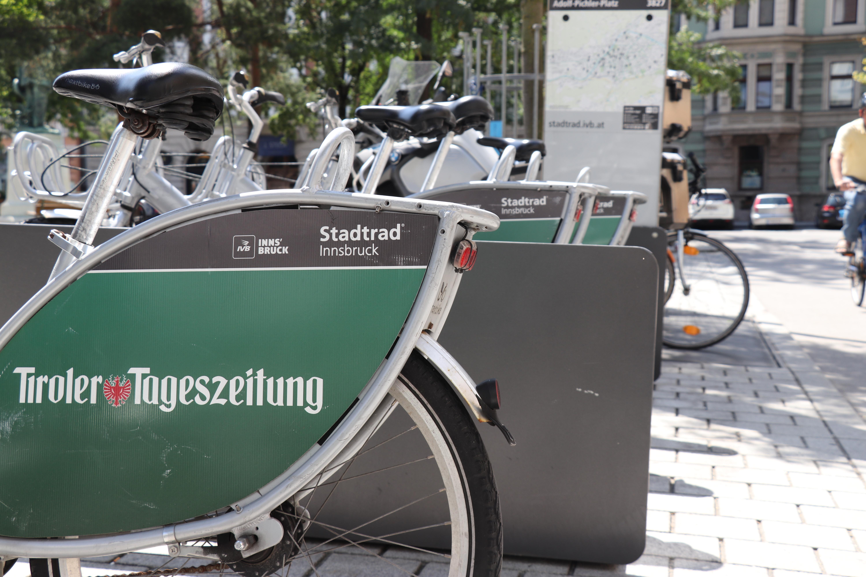 IVB Stadtrad wird vorübergehend eingestellt | Innsbruck