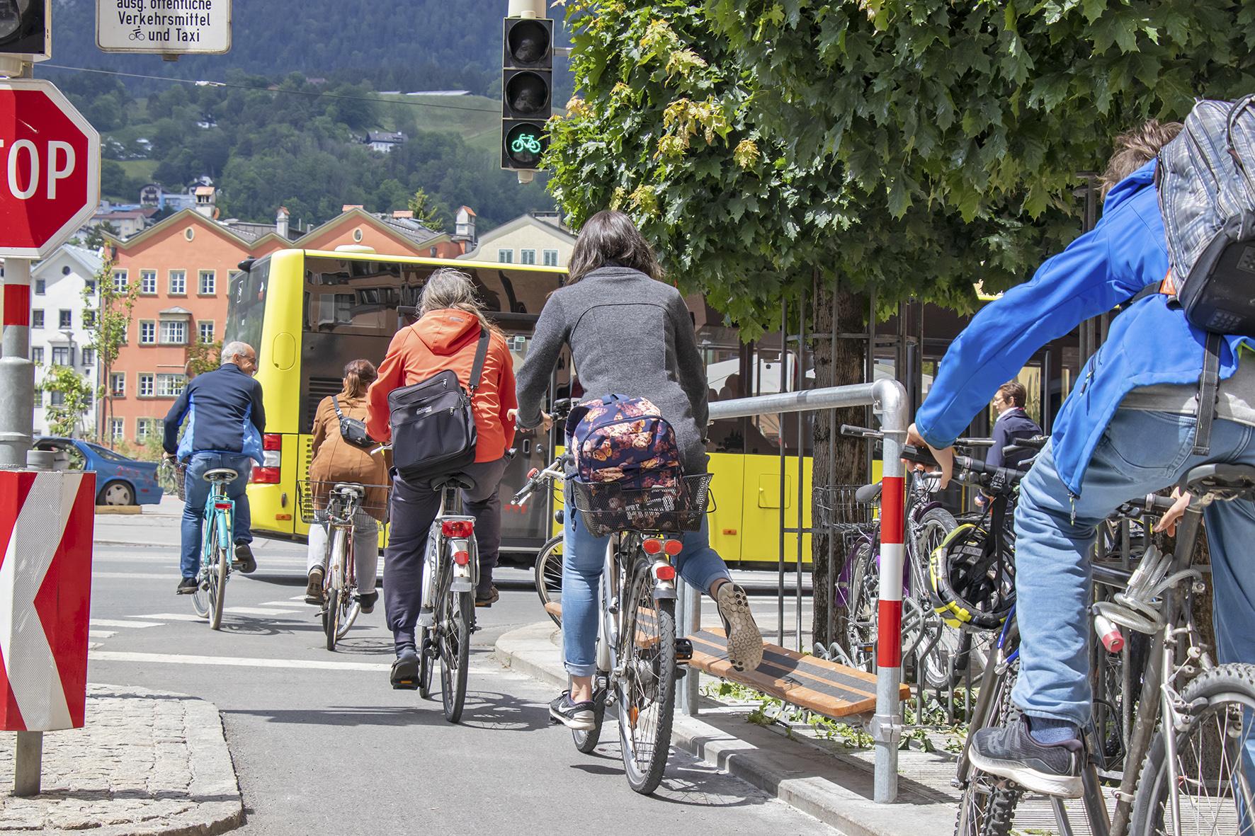 Sicher mit dem Fahrrad unterwegs